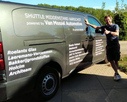 Ook Bart Schols ondersteunt ons project.